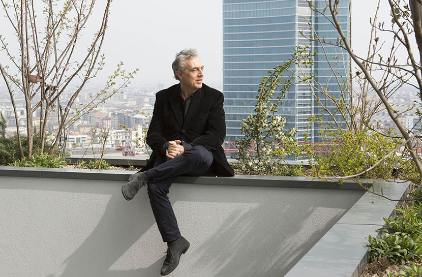 Stefano Boeri poses for a photo in Milan, Italy, March 20, 2015. Courtesy of Stefano Boeri Architetti