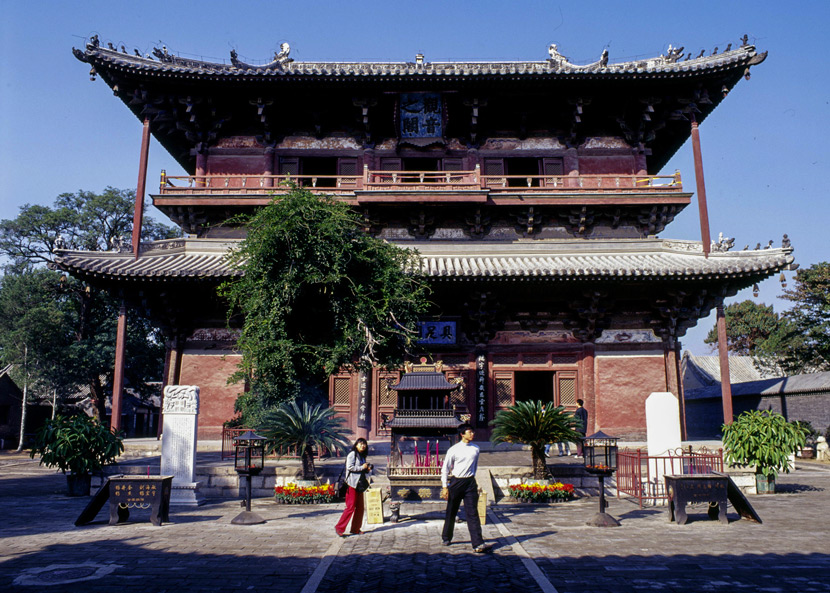 A view of Dule Temple in Tianjin, Jan. 4, 2013. Ma Jian/IC
