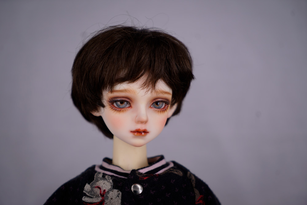 A doll belonging to one of Gong Xin's clients, in Shanghai, May 2021. Chen Si/Sixth Tone