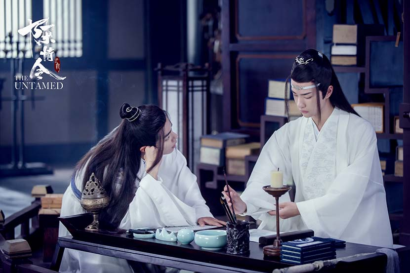 """A still from the 2019 online drama """"The Untamed,"""" based on """"Grandmaster of Demonic Cultivation."""" From Douban"""