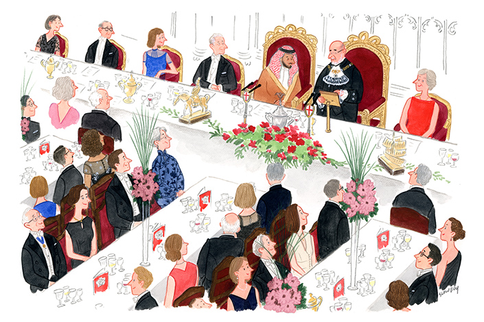 """An illustration from """"My Etiquette Journey."""" Courtesy of the artist"""