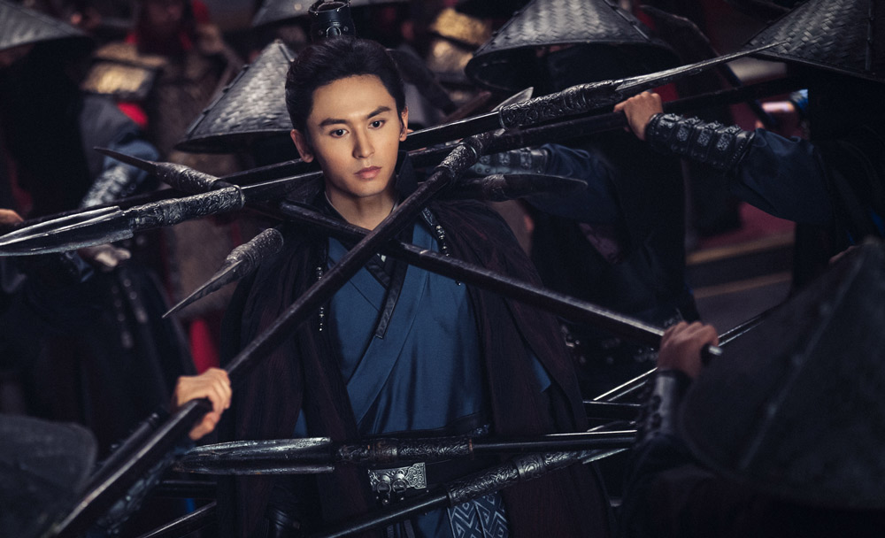 """Zhang Zhehan in the online series """"Word of Honor."""" From Douban"""