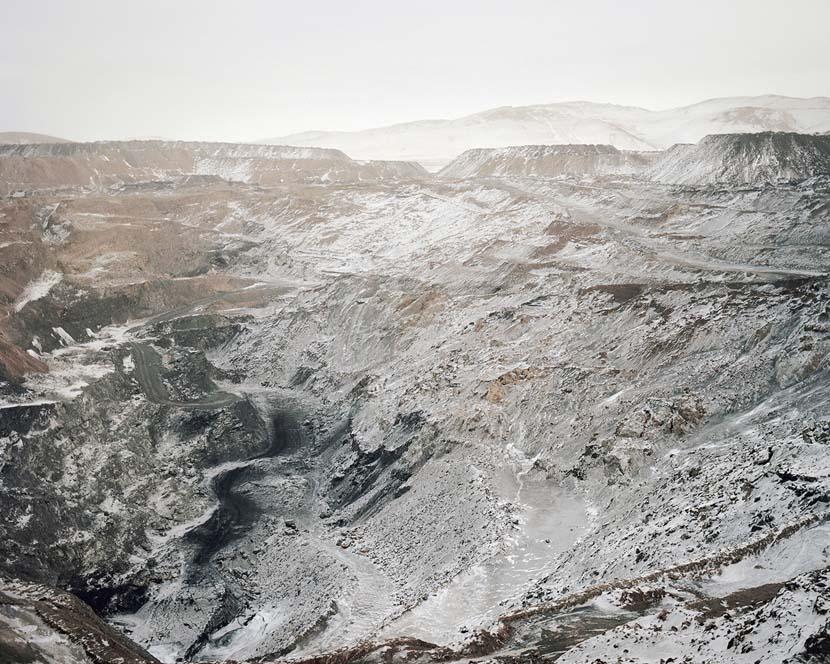 An open-pit coal mining area in  Inner Mongolia Autonomous Region, 2008. Courtesy of Li Wei