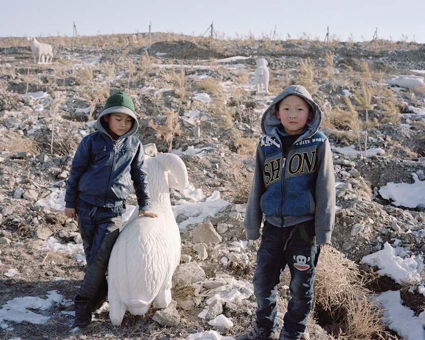 """The Good Earth,""  2014. Courtesy of Li Wei"