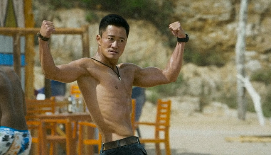 """Actor Wu Jing in his 2017 film """"Wolf Warriors 2."""" From Douban"""