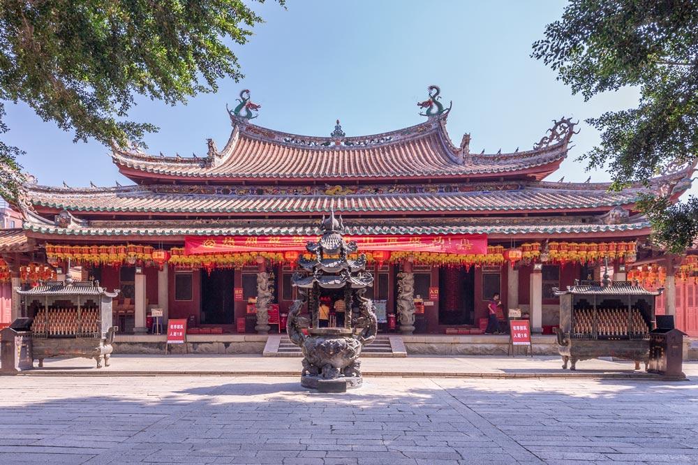 A general view of the Tianhou Temple in Quanzhou, Fujian province, July 27, 2021. Chen Xiaorong/People Visual