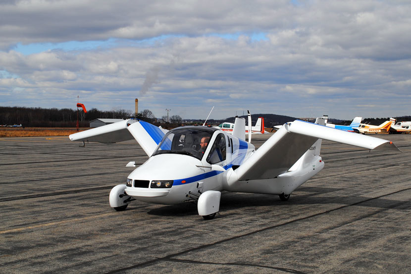 Chinese Automaker Buys Flying Car Startup