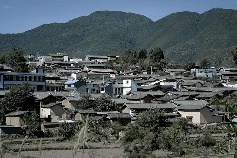 A view of Mayou Village, Yao'an County, Yunnan province, Nov. 16, 2017. Daniel Holmes/Sixth Tone