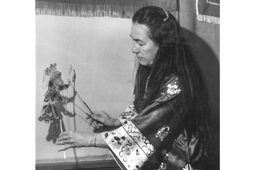 Jo Humphrey performs the 'Bull Demon King,' 1976. Courtesy of Li Mingjie