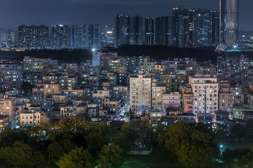 A view of Nantou Town in Shenzhen, Guangdong province, 2018. Courtesy of Zhang Chao/UABB