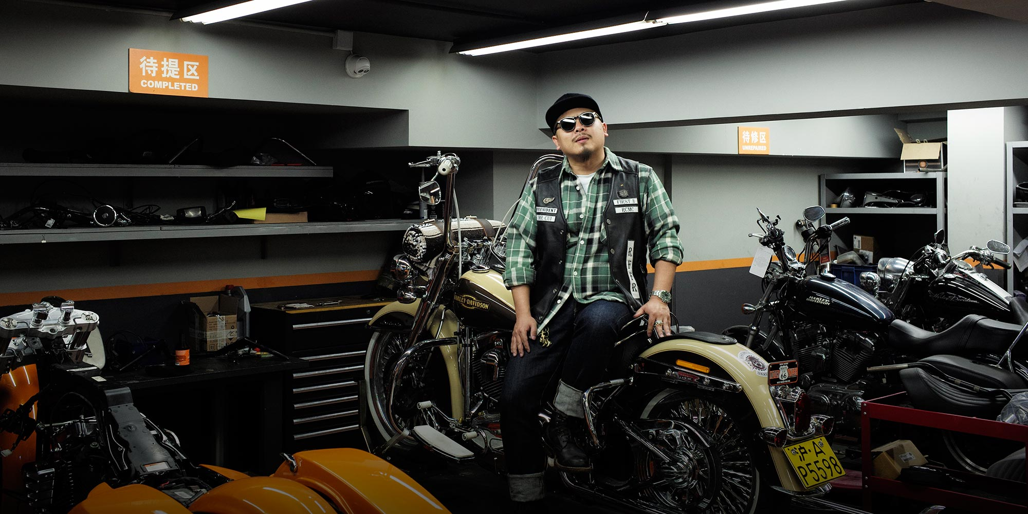 Born to Be Tamed: The Biker Gangs Revving on China's Roads